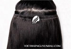 Tóc kẹp bằng tóc thật 100%