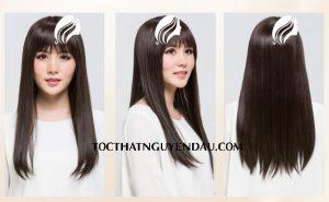 Tóc thẳng dài nguyên đầu